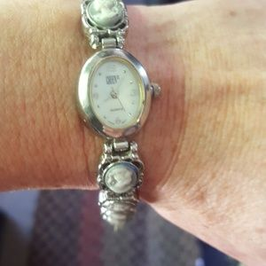 Real cameo watch and bracelet
